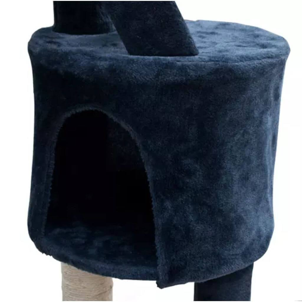 Cat Play Tree Cuddles XL Very Soft Plush Fabric and Sisal Cat Gym Everyday Pets