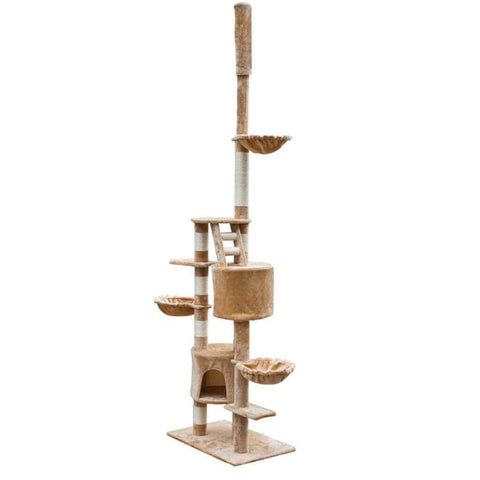 Image of Cat Tree Cuddles XL Adjustable Height Everyday Pets