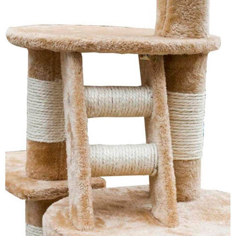 Image of Cat Tree Cuddles XL Sisal Post and Ladder Everyday Pets
