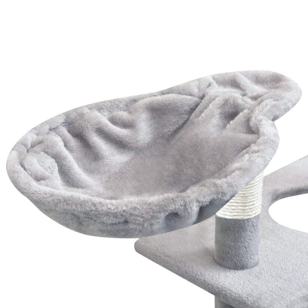 Cat Tree with Sisal Scratching Posts Comfy Hammock Everyday Pets