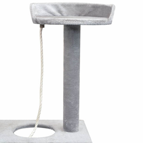 Image of Cat Tree with Sisal Scratching Posts Platform with Rope Toy Everyday Pets
