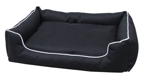 Image of Cat and Dog Bed Durable Waterproof Pet Bed Washable Dog Mattress - Medium Everyday Pets