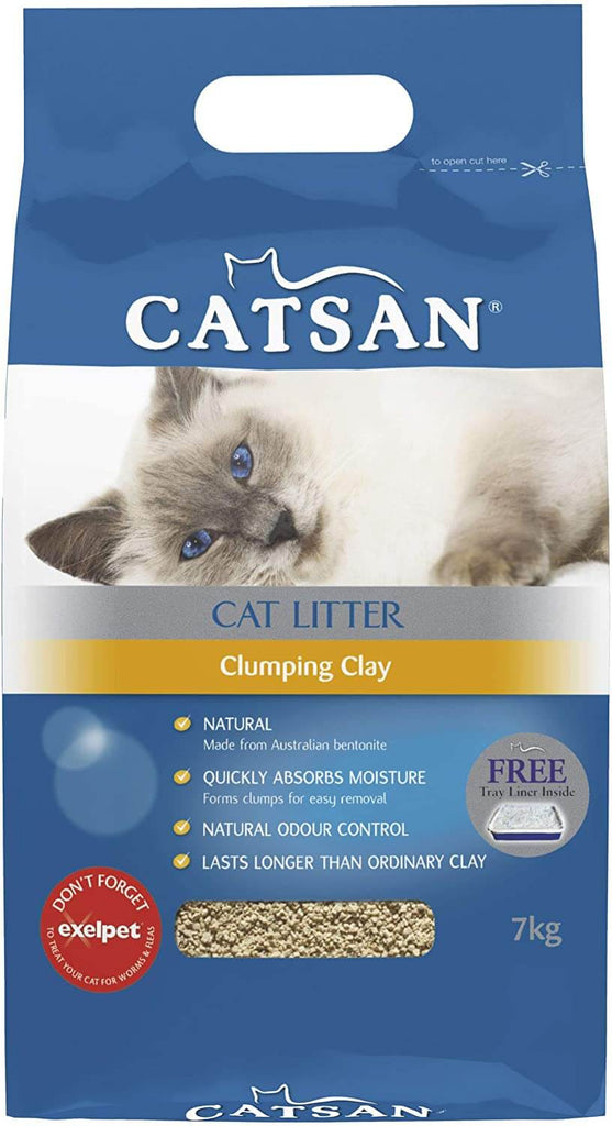 Catsan Cat Litter Clumping Clay 7kg