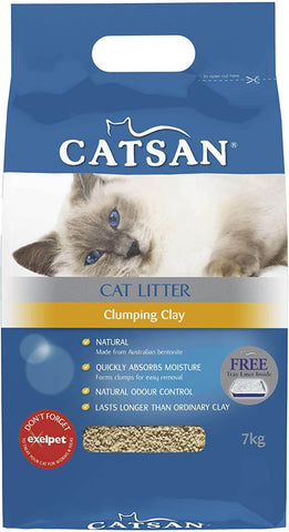 Image of Catsan Cat Litter Clumping Clay 7kg