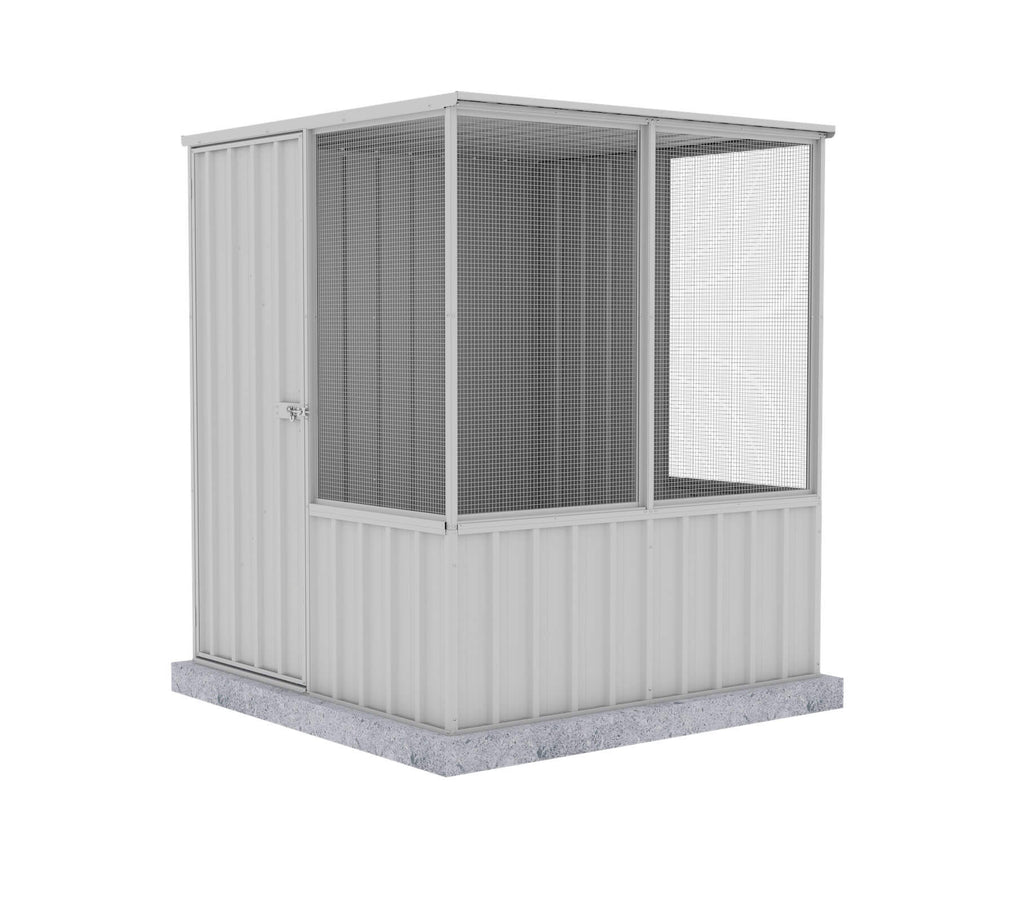 Chicken Coop 1.52mL x 1.52mW x 1.80mH Zincalume