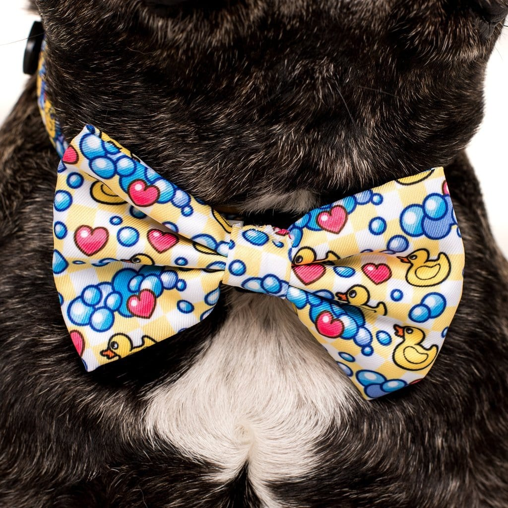 Big-Little-Dogs-Comfort-Dog-Collar-and-Bow-Tie-Rubber-Ducky