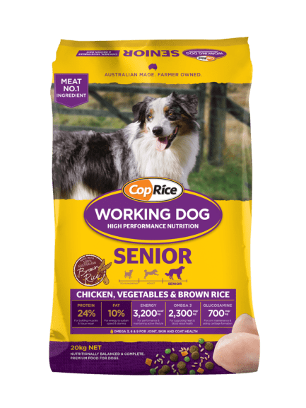 CopRice Working Adult Dog Dry Food Senior 20kg Everyday Pets