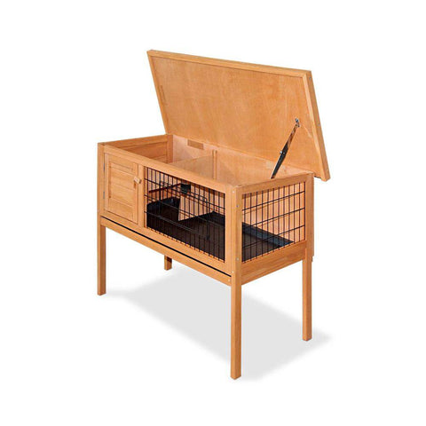 Cosy Pet Rabbit Hutch Made From TUV Approved Eco-Friendly Materials