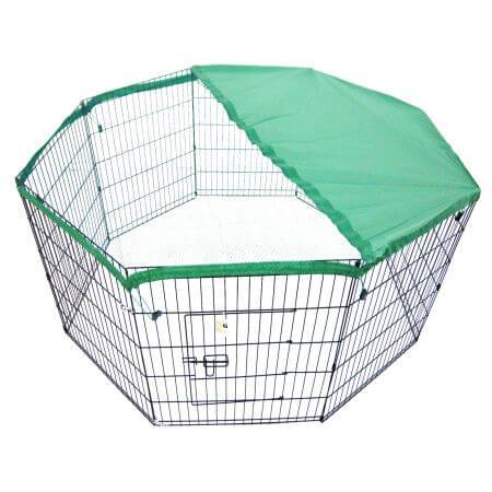 "Image of 24"" Cover For Playpen - Green"