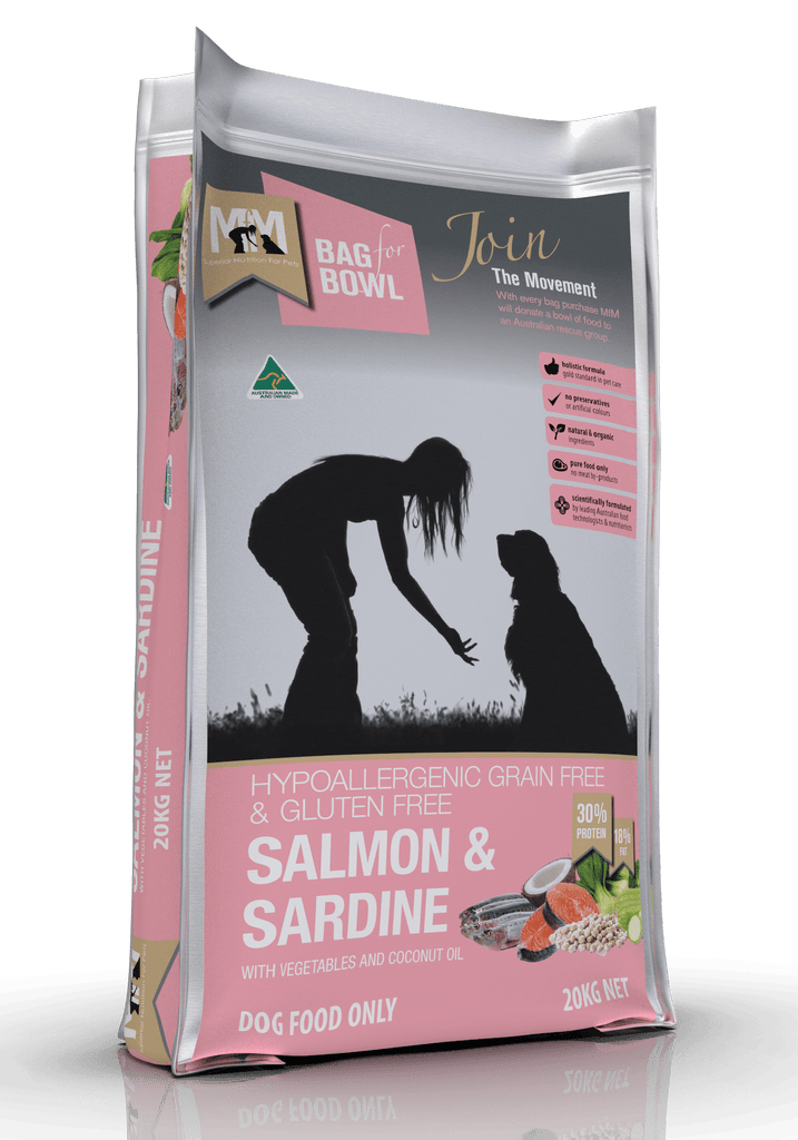 Meals For Mutts Grain Free Salmon & Sardine 20kg Everyday Pets