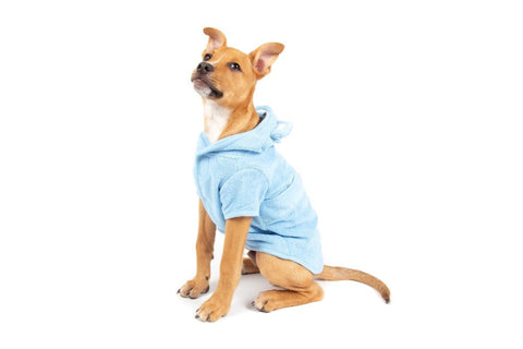 Image of Big-Little-Dogs-Dog-Bath-Robe-Baby-Blues-Moochi-1