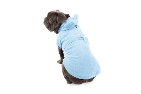 Image of Big-Little-Dogs-Dog-Bath-Robe-Baby-Blues-Rem-1