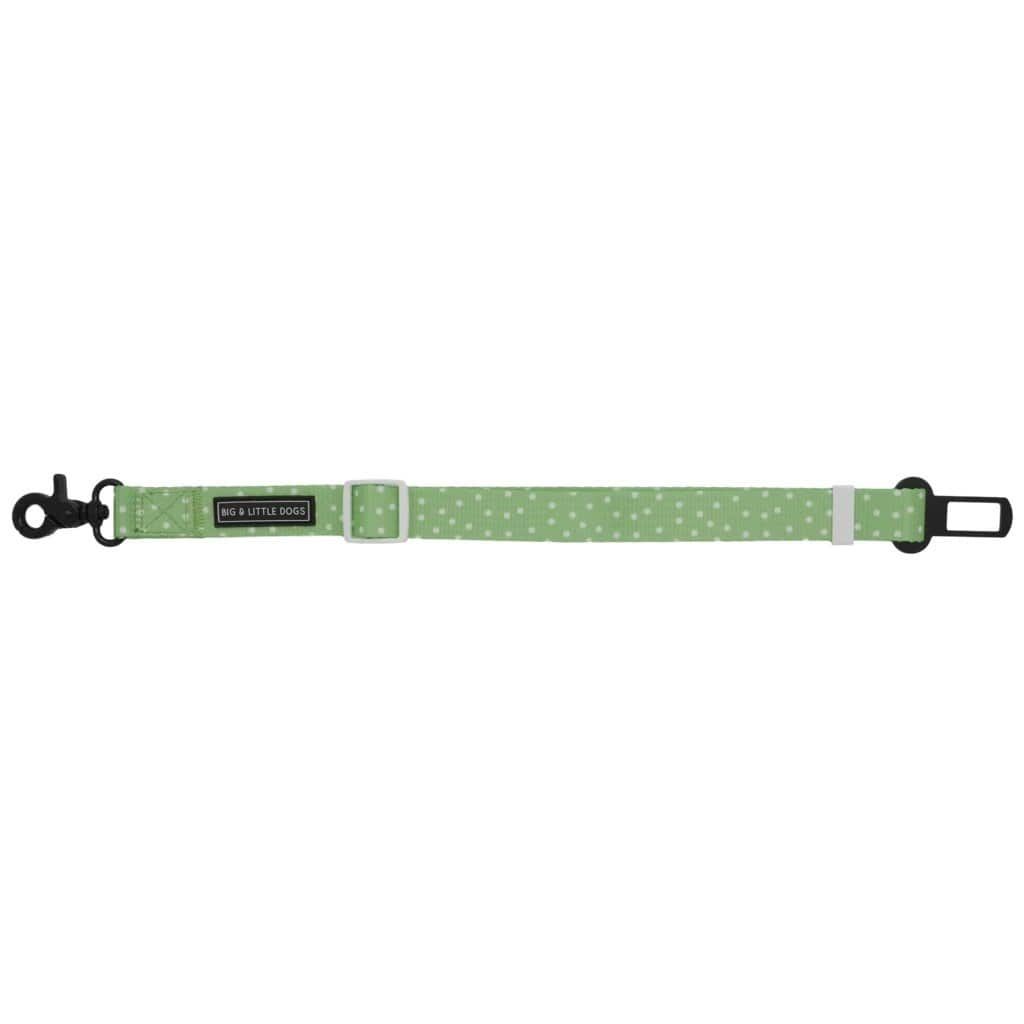 Big-Little-Dogs-Dog-Car-Restraint-Green-Dots
