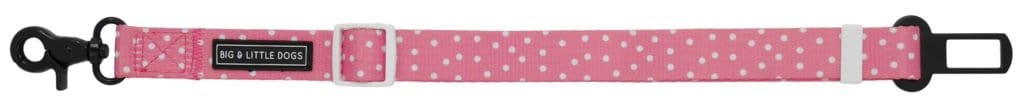 Big-Little-Dogs-Dog-Car-Restraint-Pink-Dots-Close-Up