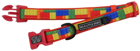 Image of Big-Little-Dogs-Dog-Collar-and-Bow-Blocktastic-3