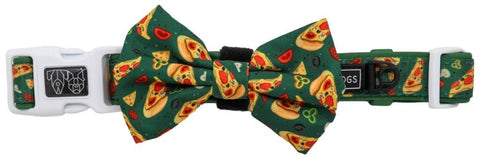 Image of Big-Little-Dogs-Dog-Collar-and-Bow-Tie-Pupperoni-Pizza