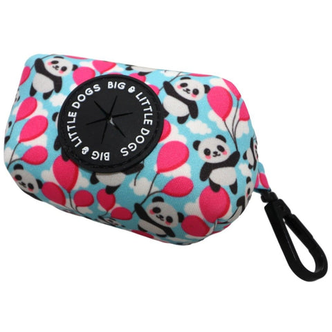 Image of Big-Little-Dogs-Dog-Poop-Bag-Holder-Beary-Cute-Pandas-Balloons