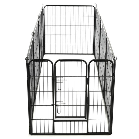 Image of Dog Playpen 8 Panels Easy to Assemble Everyday Pets