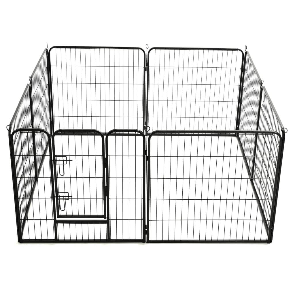 Dog Playpen 8 Panels Play Exercise Train Dogs Everyday Pets