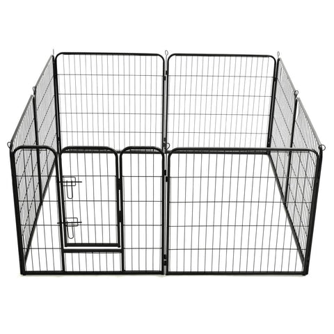 Image of Dog Playpen 8 Panels Play Exercise Train Dogs Everyday Pets
