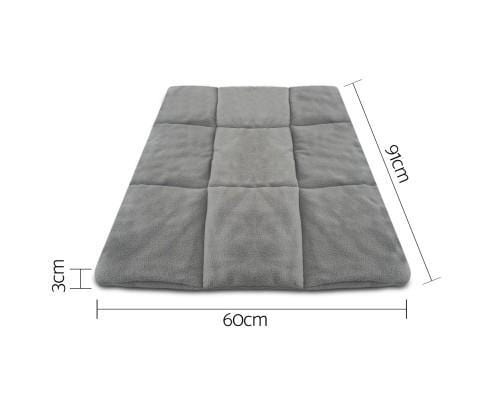 i.Pet Metal Collapsible Pet Cage Cushions Grey Durable Pet 36 inch Cage Pad Dimension and Measurement