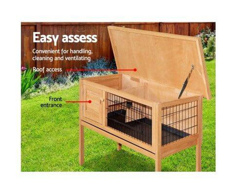 Easy Access Rabbit  Hutch House
