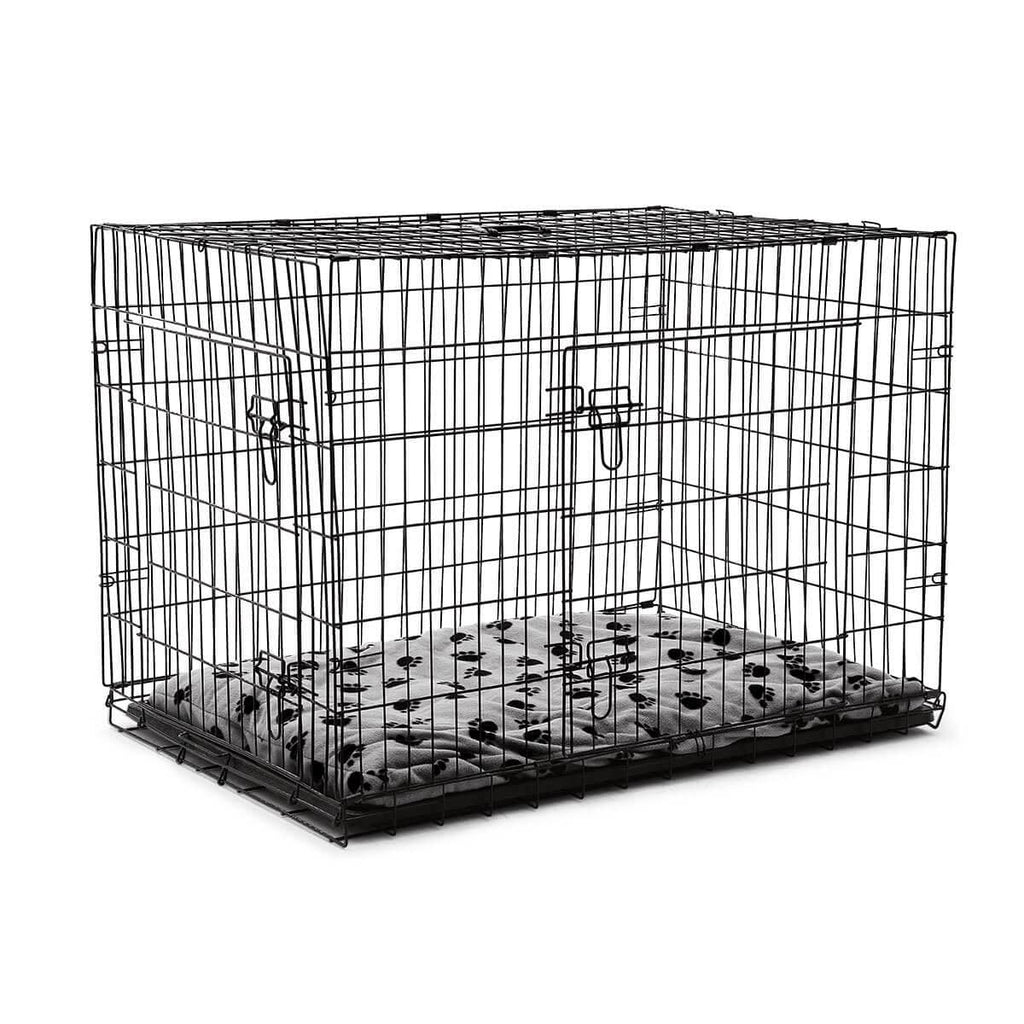 Extra Large 42  Inch Collapsible Dog Crate with Comfortable Pillow