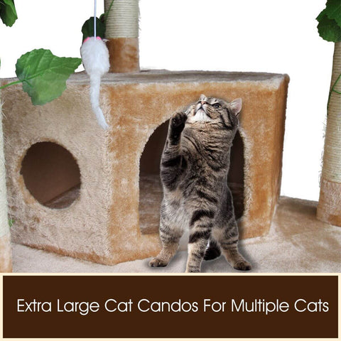 Image of Extra Large Cat Condos for Multiple Cats