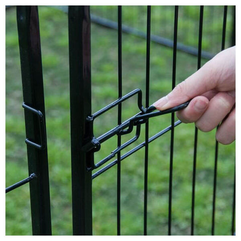 "Image of Extra Heavy Duty 32"" Animal Playpen Bolt Latches Everyday Pets"