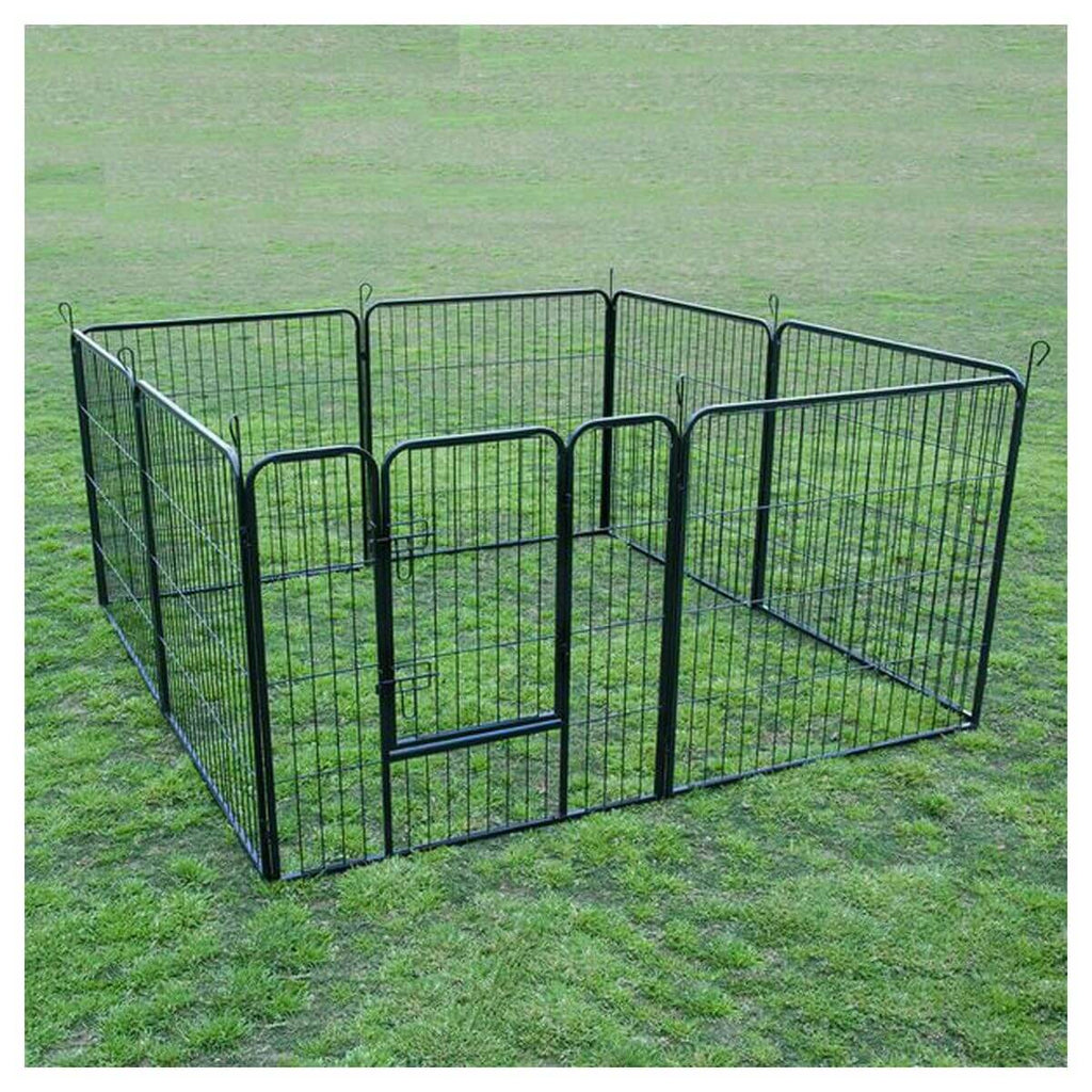 "Extra Heavy Duty 32"" Animal Playpen Ideal For Small Pets Such As Puppies Kittens Guinea Pigs And Rabbits Everyday Pets"