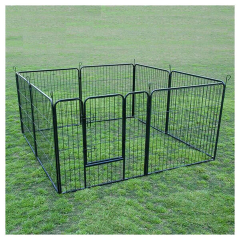 "Image of Extra Heavy Duty 32"" Animal Playpen Ideal For Small Pets Such As Puppies Kittens Guinea Pigs And Rabbits Everyday Pets"