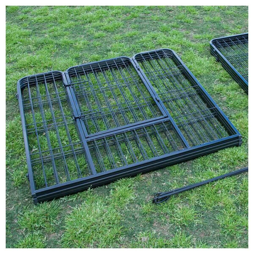 "Extra Heavy Duty 32"" Indoor Outdoor Pet Cage Quick Set Up Everyday Pets"
