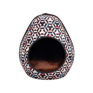 Innovative Pet Bed Travel Friendly Cat Bed Cozy Gourd Cat Cave House