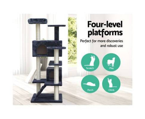 Four Level Medium Cat Tree - 134cm