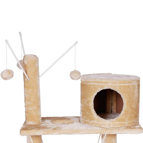 Image of Giant 150cm Cat Tree with Hanging Rope