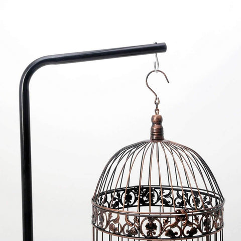 High Quality Iron Tube Frame Bird Cage Not Included