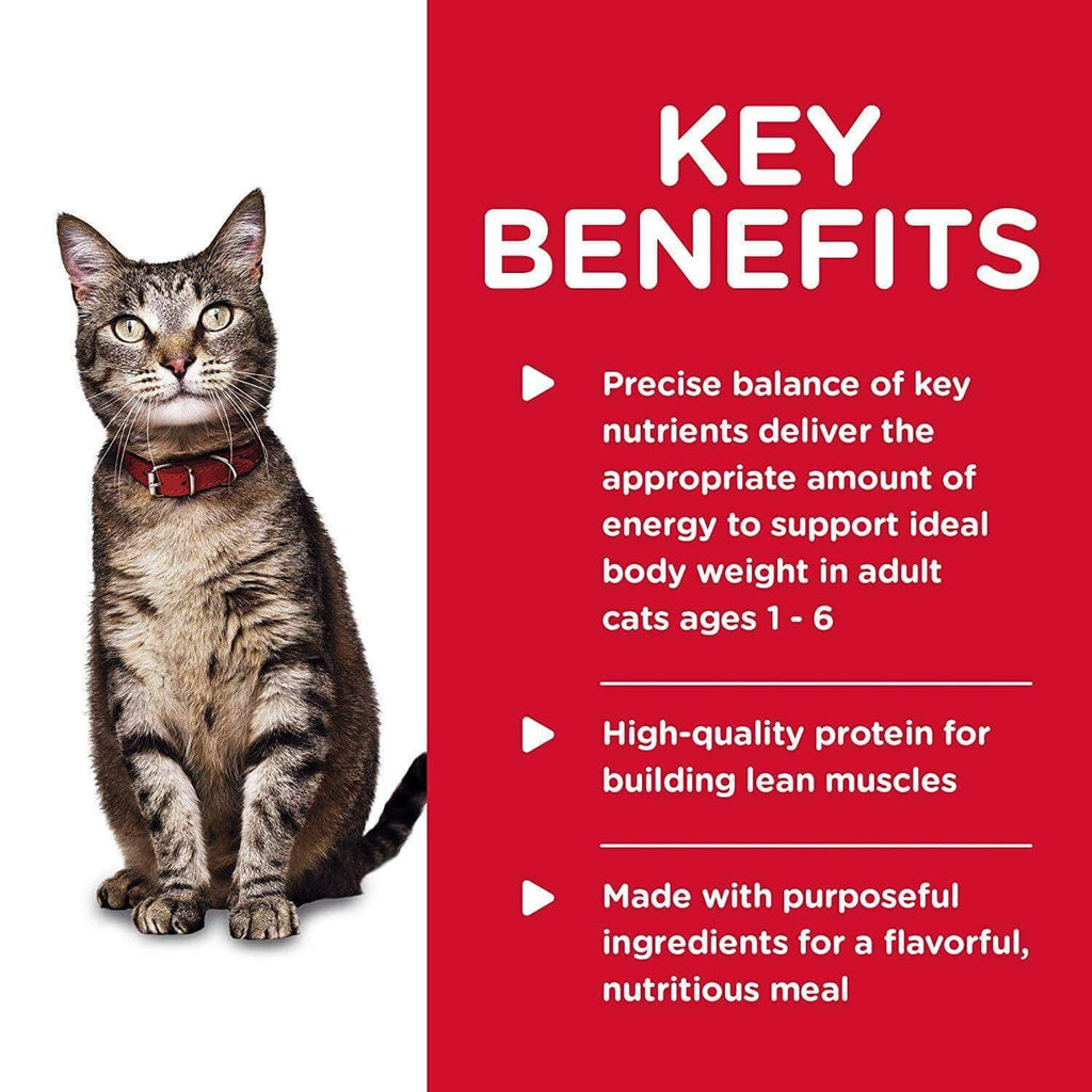Hill's Science Diet Adult Cat Tender Dinners Chicken Cat Food Key Benefits Everyday Pets