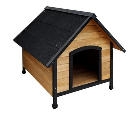 Image of I.Pet_Timber_Wooden_Pet_Kennel_front_facing