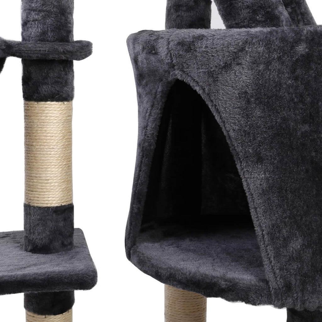 Kitten Cat Tree with Cubby Hole