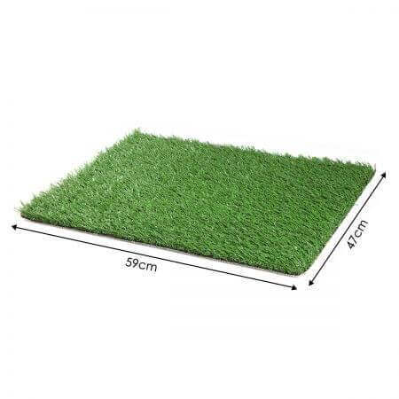 Image of Large Indoor Pet Toilet Grass Dimension