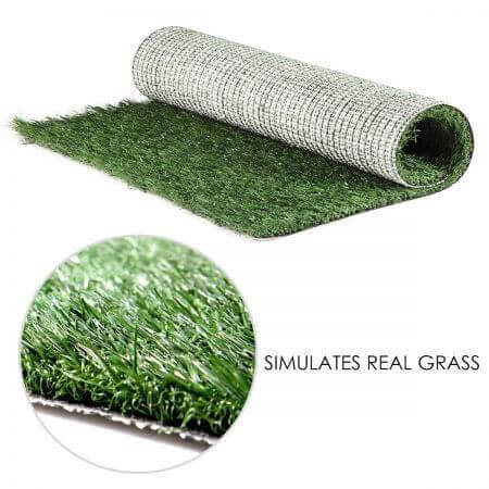 Image of Large Indoor Pet Toilet Lawn Design Simulates Real Grass