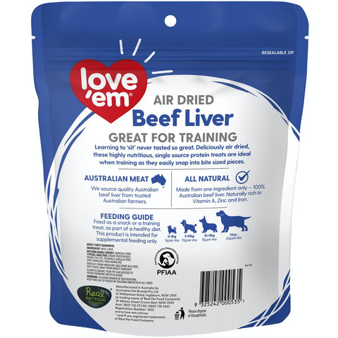 Image of Love em Air Dried Beef Liver 4x200g