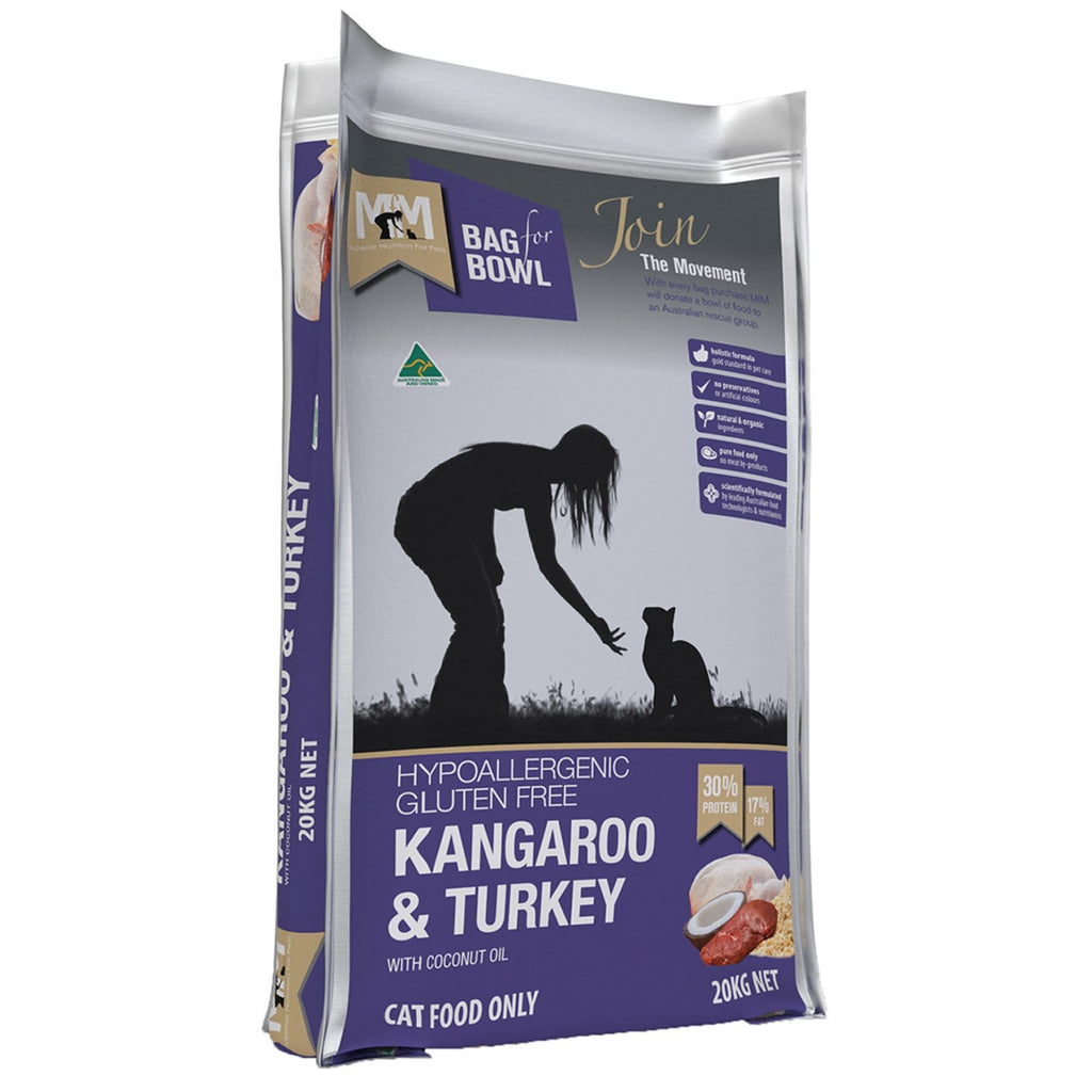 Meals For Meows Dry Cat Food Kangaroo & Turkey 20kg