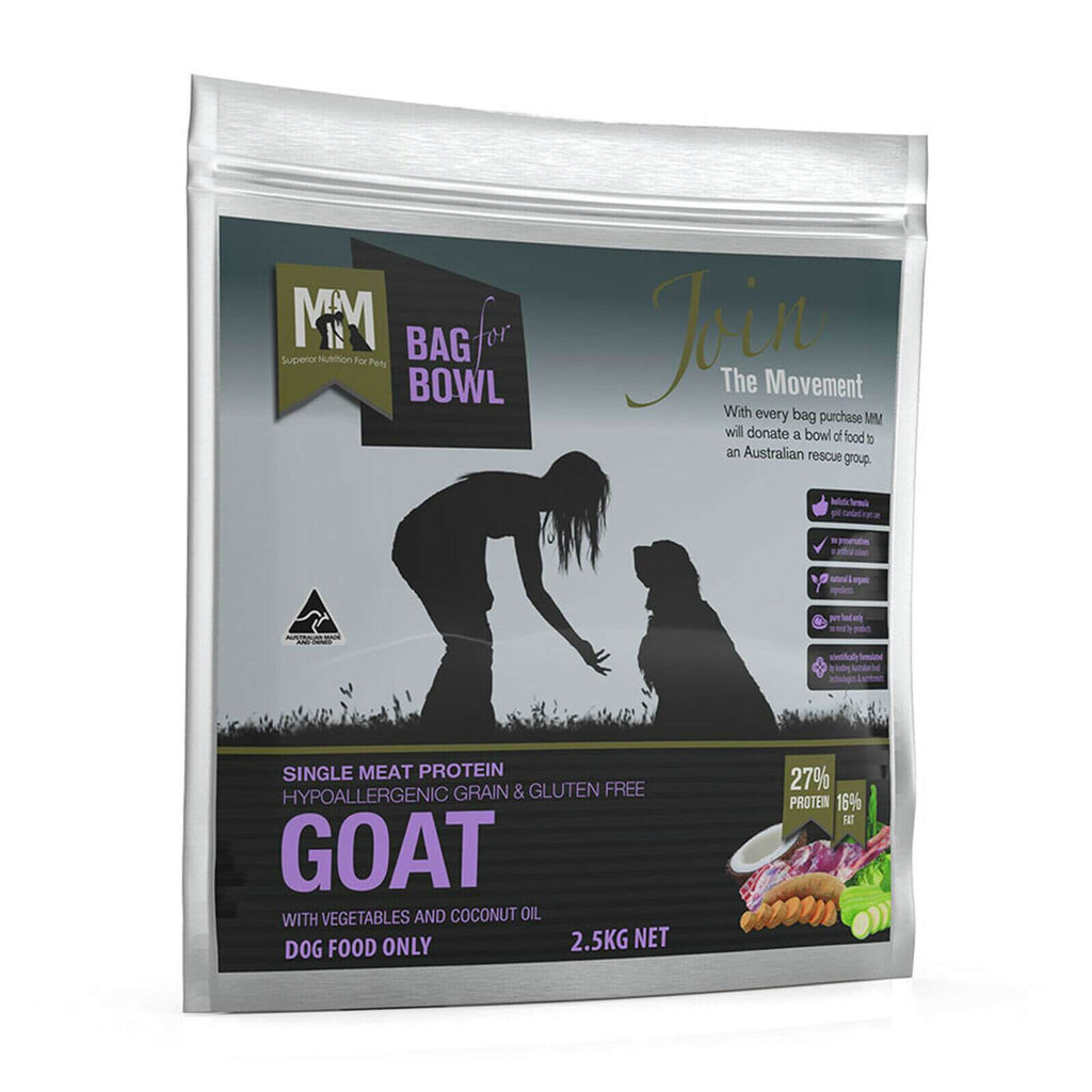 Meals For Mutts Grain Free Single Protein Goat 2.5kg