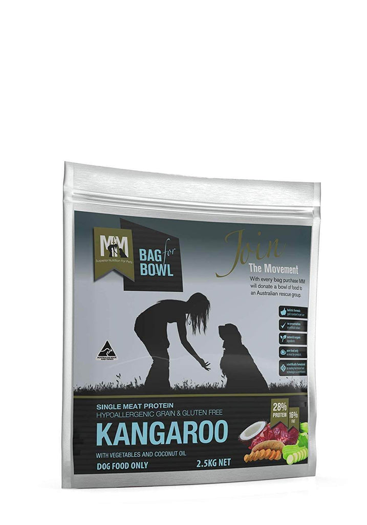 Meals For Mutts Grain Free Single Protein Kangaroo 2.5kg