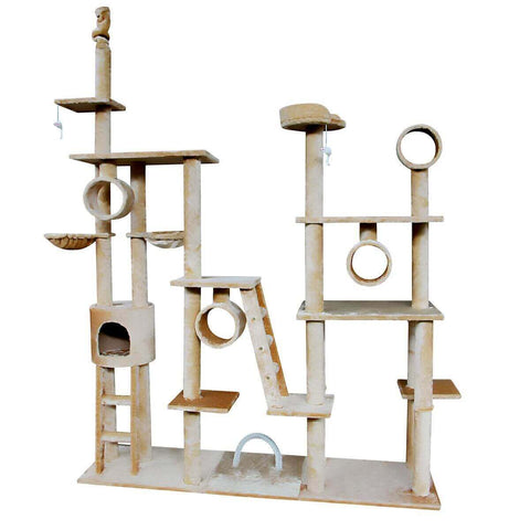 Image of Multi Level Cat Gym Play Centre Tree 190 x 50 x 260cm