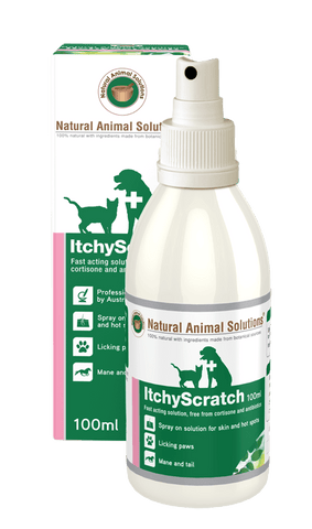 Image of Natural Animals Solution Itchy Scratch Spray 100ml