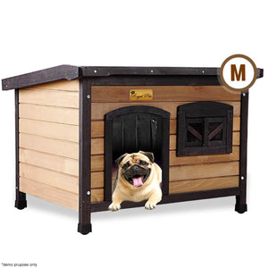 New Royal Pet Dog Anti-Termite Pest Resistant Timber House Kennel Wooden Home
