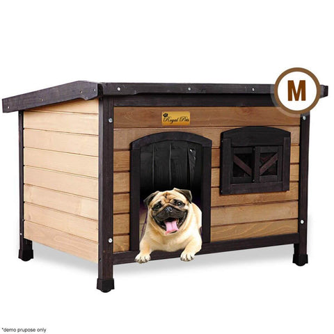 Image of New Royal Pet Dog Anti-Termite Pest Resistant Timber House Kennel Wooden Home