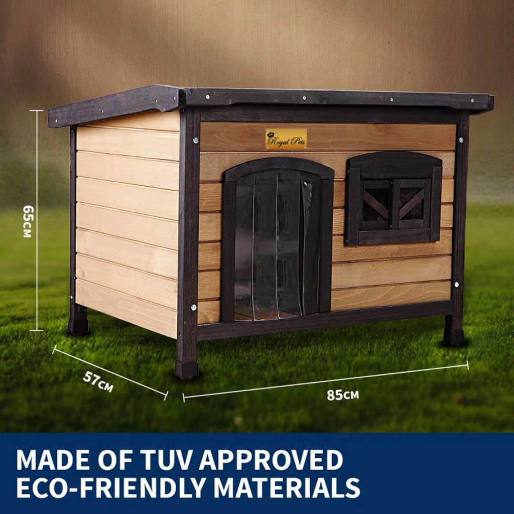 New Royal Pet Dog Timber House Made of TUV Approved Eco-Friendly Materials